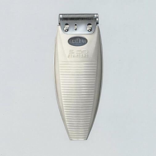 初の電気シェーバーS50